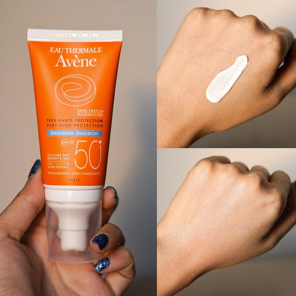 Avène Eau Thermale Très Haute Protection Very Hight Protection Emulsion SPF 50+