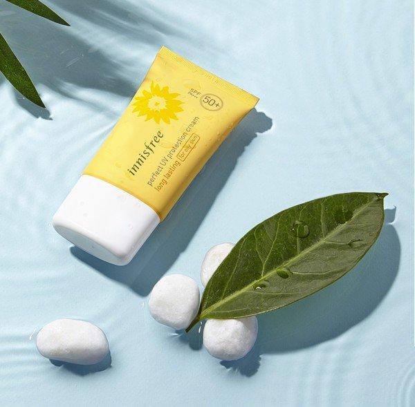 Innisfree UV Perfect UV Protetion Cream Long Lasting For Oily Skin