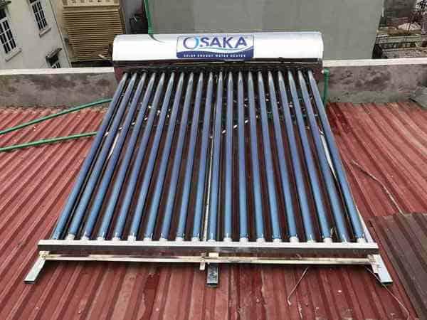 Bình nước nóng năng lượng mặt trời Osaka