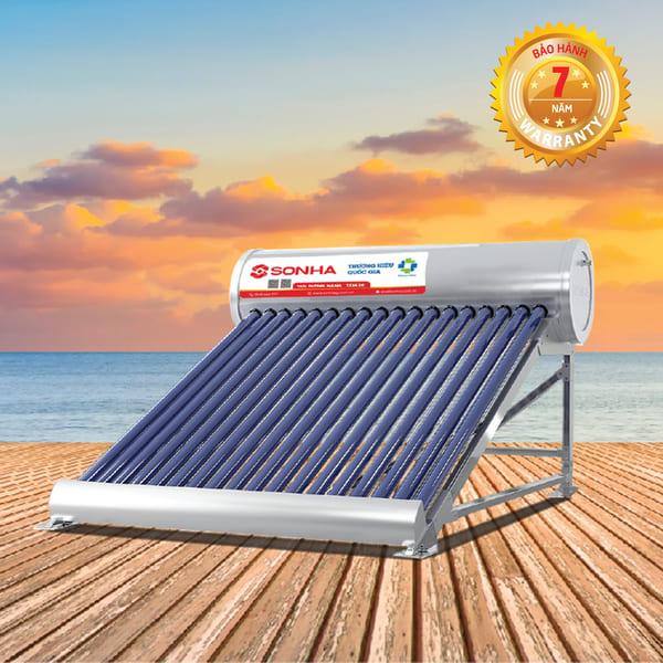 Bình nước nóng năng lượng mặt trời SHC