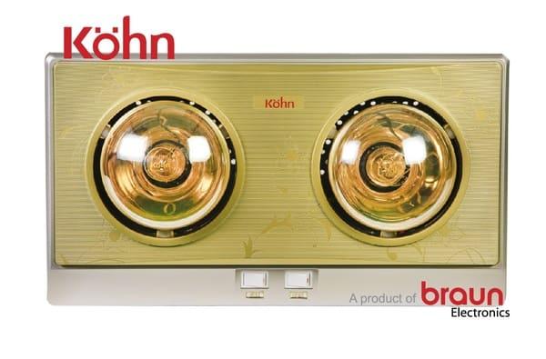 Đèn sưởi nhà tắm Braun & Kohn