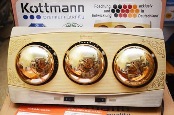 đèn sưởi phòng tắm Kottmann