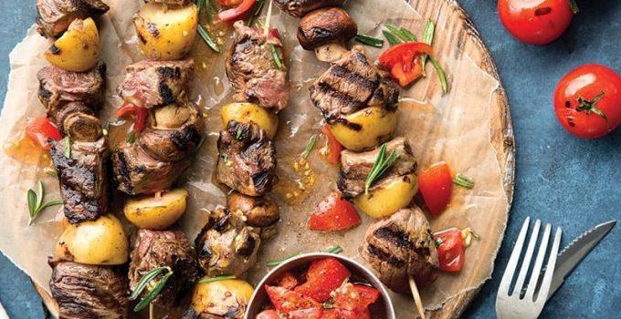 nướng thịt bằng nồi chiên không dầu