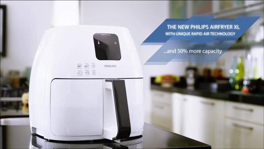 Cách sử dụng nồi chiên không dầu Philips HD9240
