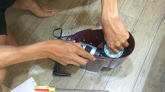 Cách sửa chữa máy ép chậm Savtm