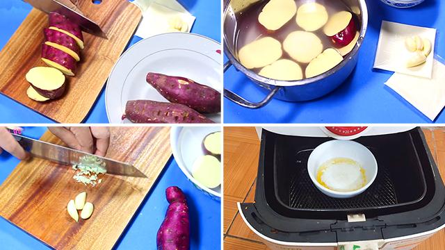 Cách làm Snack khoai bơ tỏi hấp dẫn tại nhà