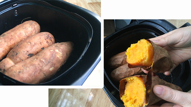 Cách nướng khoai lang tại nhà